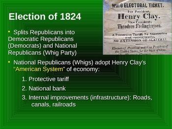 Jackson Era PowerPoint U.S. History (1824-40)