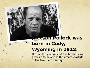Jackson Pollock Powerpoint