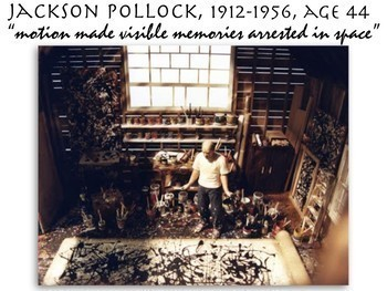 Jackson Pollock - Abstract Expressionism - Art History - 194 Slides