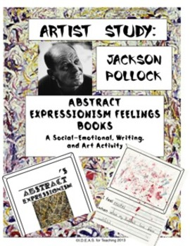 Jackson Pollock Abstract Expressionism Book-Making
