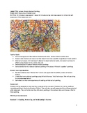 Jackson Pollock Abstract Splatter String Painting Project