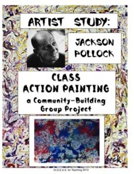 Jackson Pollock Class Action Painting