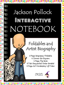 Jackson Pollock Interactive Notebook Foldables