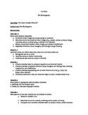 Jackson Pollock Unit Plan