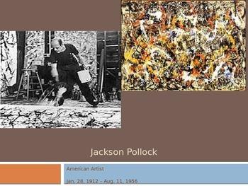 Jackson Pollock's Life & Work