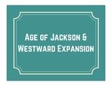 Jackson & Westward Expansion Word Wall