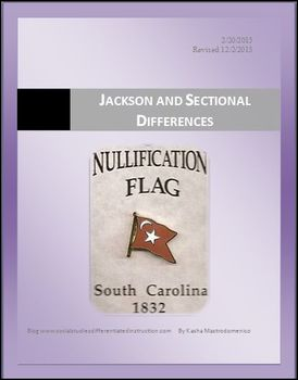 Jackson and Sectional Differences Differentiated Instruction Lesson Plan