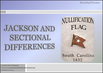 Jackson and Sectional Differences Differentiated Instruction PowerPoint