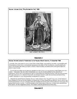 Jacksonian Democracy Document Study