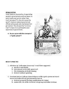 Jacksonian Democracy Webquest Flipped Classroom