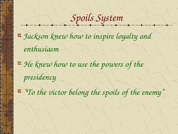 Jacksonian Era Powerpoint