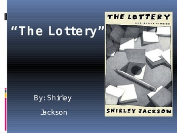 "Jackson's ""The Lottery"" (PowerPoint Presentation)"