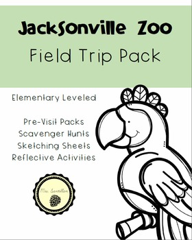 Jacksonville Zoo and Gardens Field Trip Pack
