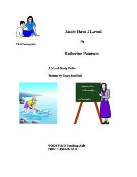 Jacob Have I Loved Novel Study Guide