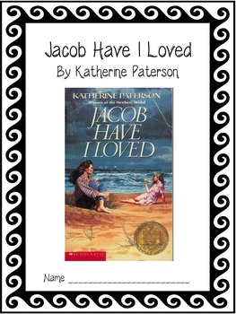 Jacob Have I Loved - Novel Unit