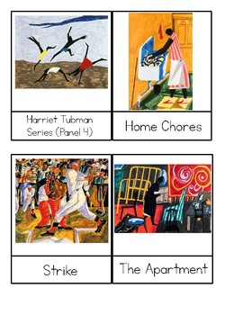 Jacob Lawrence - 3 Part Cards - Art Masterpieces