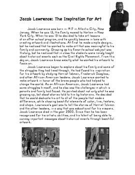 Jacob Lawrence Biography