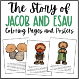 Jacob and Esau Bible Story Coloring Pages and Posters | Cr