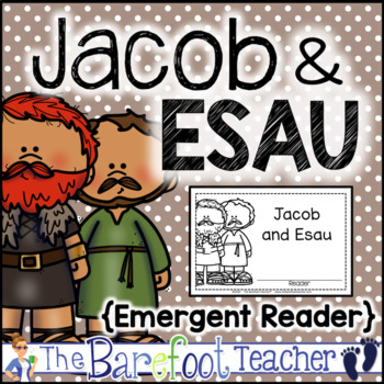 Jacob and Esau Emergent Reader (Distance Learning)