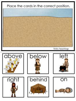 Jacob and Esau Positional Game printable game. Preschool Bible Study Curriculum