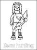 Jacob and Esau Printable Color Sheets. Preschool Bible Stu