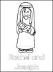 Jacob and Rachel Printable Color Sheets. Preschool Bible Study Curriculum.