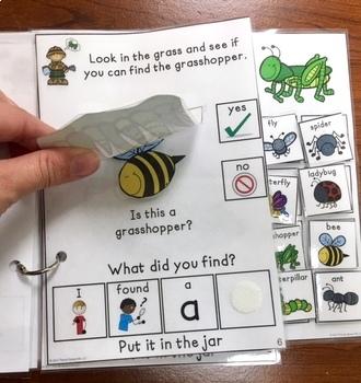 Jacob's Bug Collection:  An interactive & adaptive book
