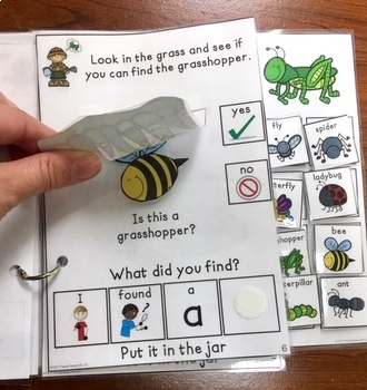 Jacob's Bug Collection:  An interactive & adaptive book