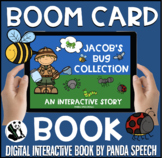 Jacob's Bug Collection Boom Book (Boom Card Activity)  Dis