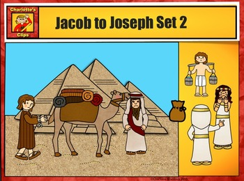Jacob to Joseph: Bible Series Set 2 by Charlotte's Clips