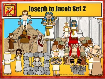 Jacob to Joseph: Bible Series Set 2 by Charlotte's Clips