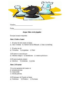 Jacque Mate en dos jugadas (Review packet or test)