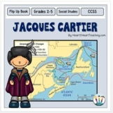 Early Explorers: Jacques Cartier Unit with Articles, Activities & Flip Book