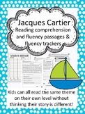 Jacques Cartier fluency and comprehension leveled passage
