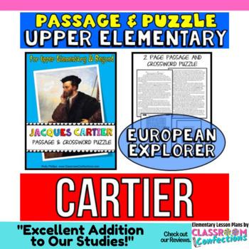 Jacques Cartier Reading Passage: Biography: Comprehension