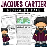 Jacques Cartier Biography Pack (New World Explorers)