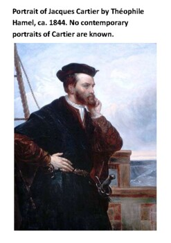 Jacques Cartier Handout with activities
