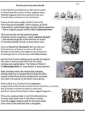 Jacques Cartier, New France (17) - poem, worksheets and puzzle