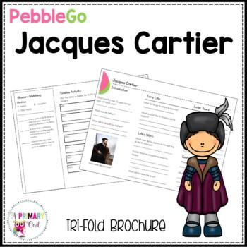 Jacques Cartier PebbleGo research brochure