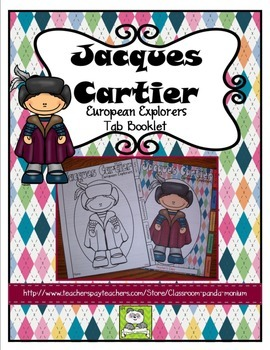 Jacques Cartier Tab Booklet
