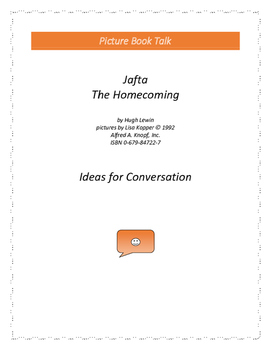 Jafta / The Homecoming: Ideas for Conversation