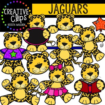 Jaguars {Creative Clips Digital Clipart}