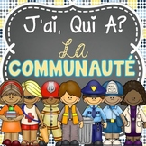 J'ai Qui A - French Community Helpers (Les membres de la communauté - 24 cartes)