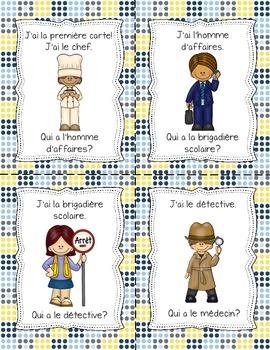 J'ai Qui A - French Community Helpers (Les membres de la communauté - 24 cartes)