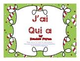 J'ai Qui a Christmas Math Game