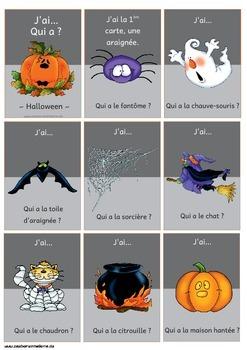 J'ai…  Qui a ?  - Halloween