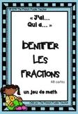 Jeu de math : Identifier les fractions