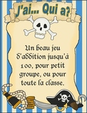 J'ai... Qui a?  Jeu d'addition theme de pirate