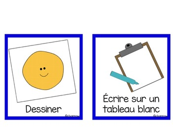 """""""J'ai fini!"""" – """"I am finished"""" chart in French"""