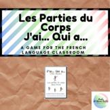 J'ai...Qui a... Les Parties du Corps Game (French)